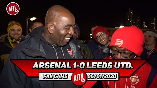 Arsenal 1-0 Leeds United | Leeds Looked Like A Premier League Team! (Fans Round Up) Ft Ty