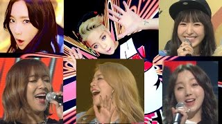 TaeYeon vs Wendy vs Luna vs Ailee vs Kei - Shake That Brass (Amber)