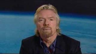Virgin Galactic promotional trailer starring Richard Branson thumbnail