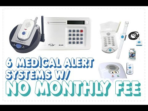 Medical Alert Systems No Monthly Fee | Our 6 Picks