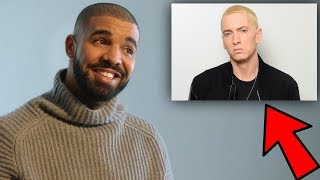 RAPPERS REACT TO EMINEM... (Rap God, Lose Yourself & River)