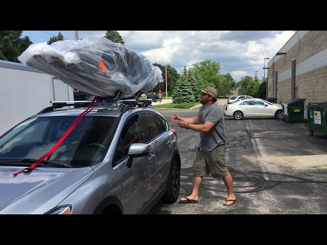 How to Load and Tie Down a Kayak with the Malone J-Style Downloader