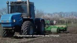 Роторный культиватор Видео1  Предпосевная обработка