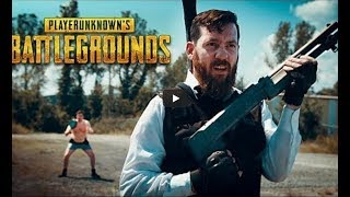 PlayerUnknown\'s Battlegrounds na Vida Real