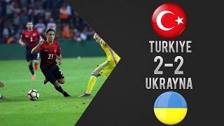 Türkiye 2-2 Ukrayna Maç Özeti - Dünya Kupası Elemeri (06/10/2016)