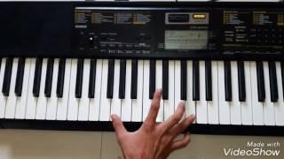 kisiki muskurahaton pe ho nissar... piano with karaoke