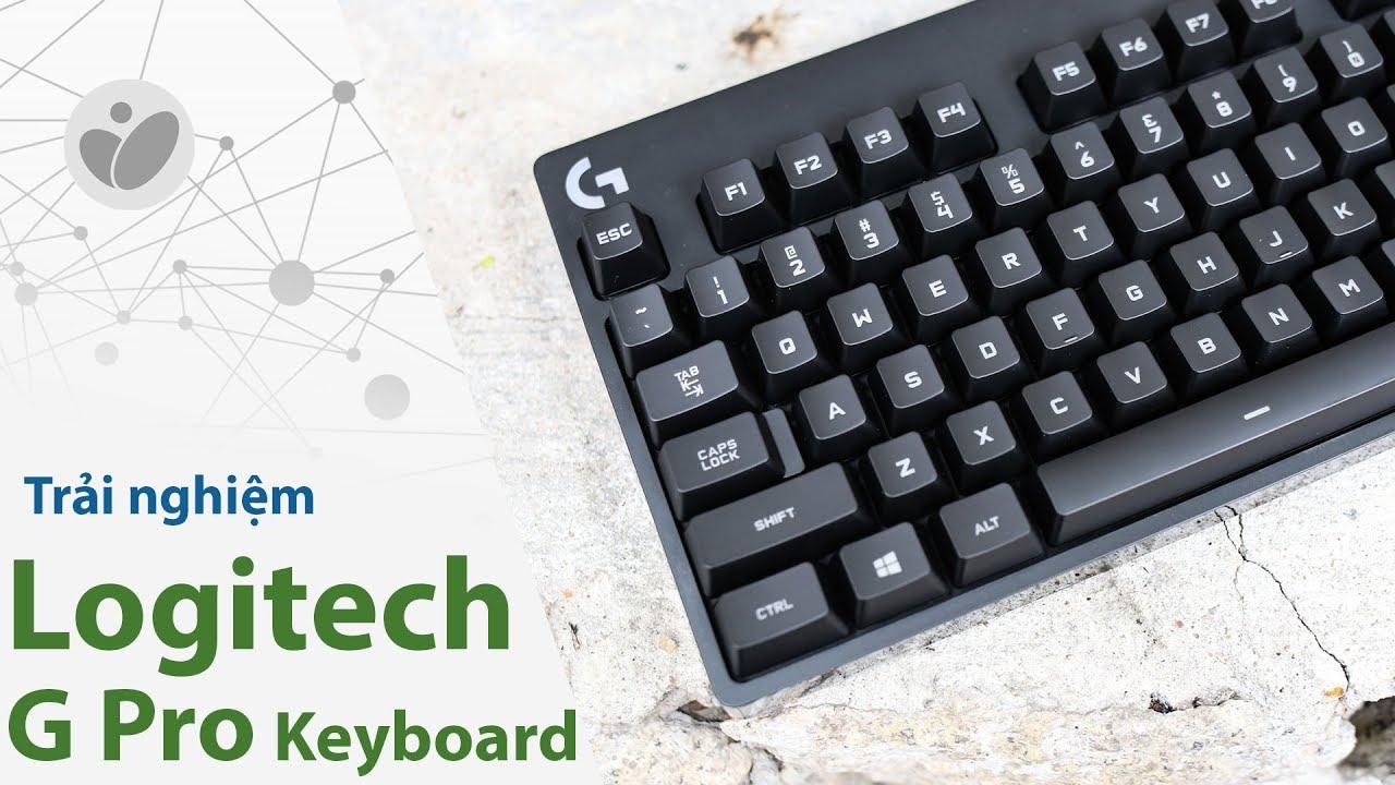 Trải nghiệm Logitech G Pro Keyboard: TKL, RGB, Romer-G, giá tốt | Tinhte.vn
