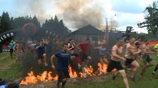 """""""Bison Race"""" 2017 в Логойске: экстремальная гонка с препятствиями"""
