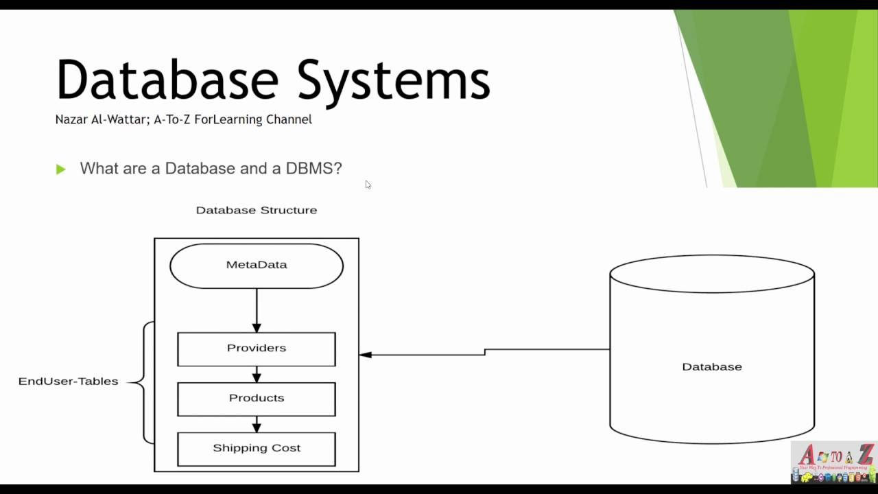 data base management system What is a database management system a database management system (dbms) is a collection of programs that enables users to create and maintain a database according.