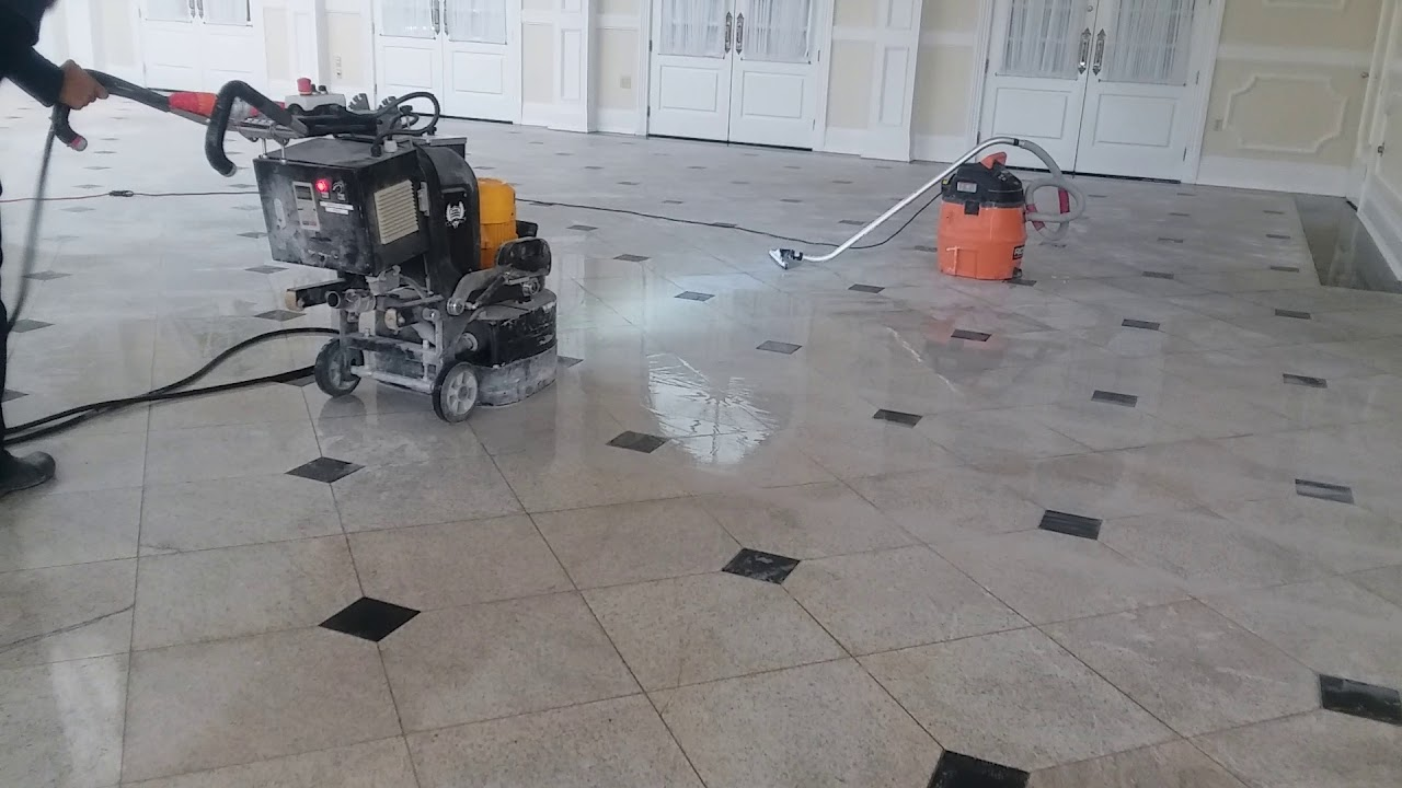 Granite Floor Cleaning Youtube