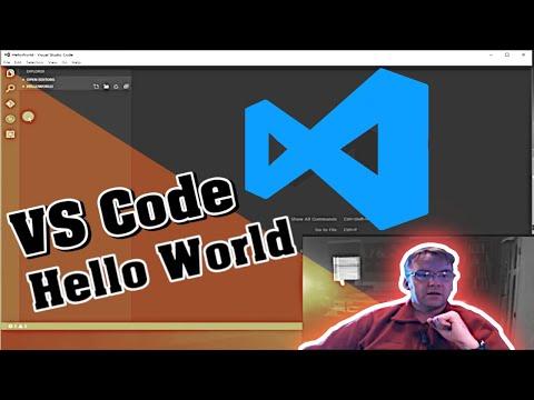 Visual Studio Code C# Beginner Tutorial: Hello World
