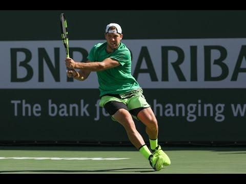 BNP Paribas Open 2017: Day 12 ATP Highlights