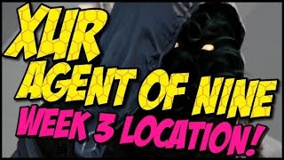 Xur Agent of Nine! Year 2 Week 3 Location, Items and Recommendations!