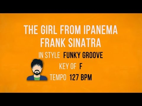 The Girl From Ipanema - Karaoke Backing Track - Funky Style