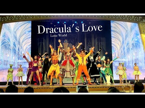 """""""Dracula's Love"""" ( 드라큘라의 사랑 ) l Lotte World Adventure ( 2017.09.14 )"""