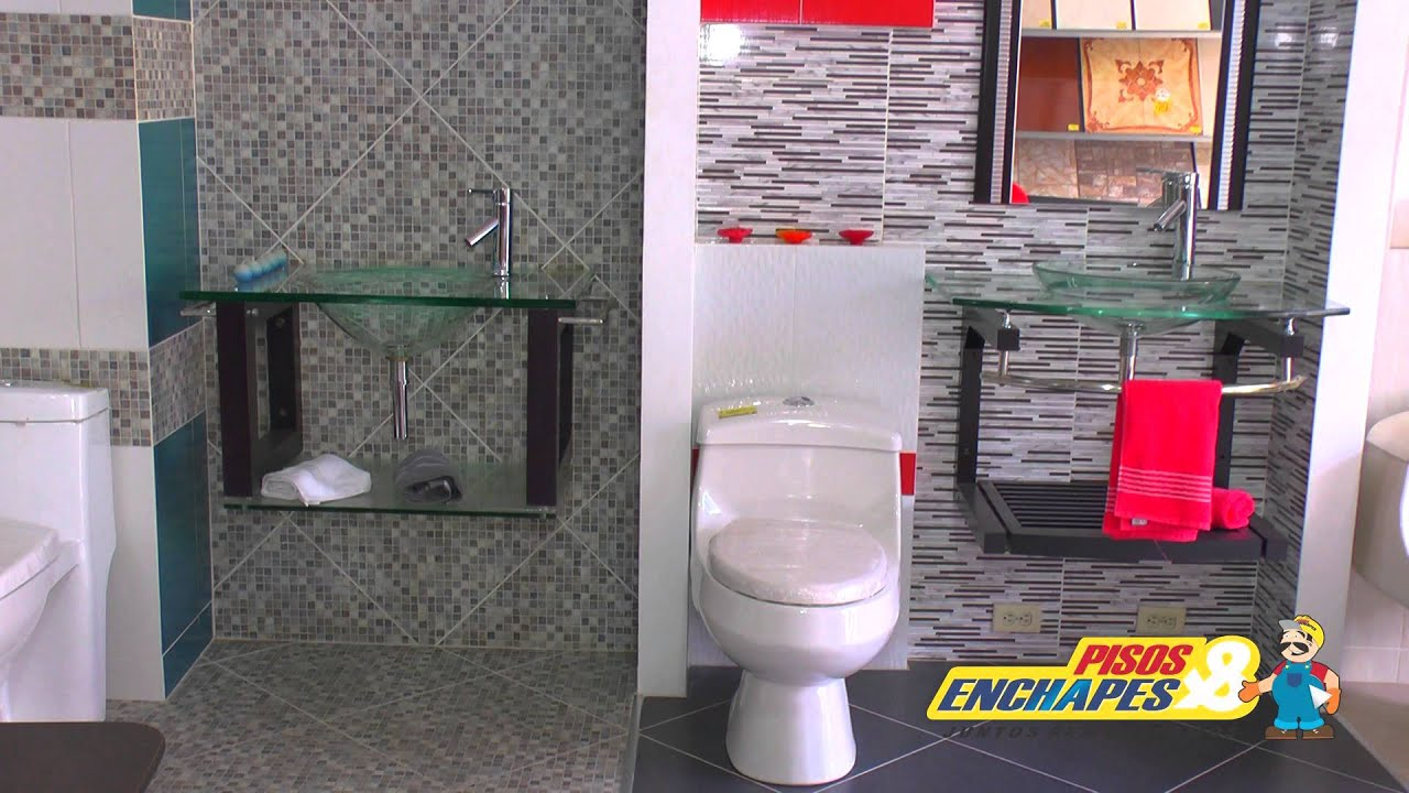 Baldosas Baño Homecenter:Enchapes De Banos