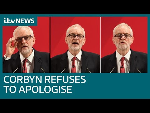 Jeremy Corbyn refuses to apologise in wake of Chief Rabbi's warning | ITV News