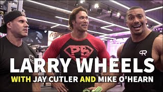 JAY CUTLER, MIKE O HEARN, LARRY WHEELS