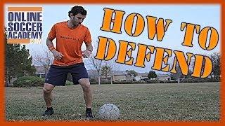 Soccer DEFENSE Training Videos - Soccer Positions