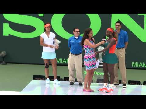 Serena Williams win Sony Open Tennis Miami 2014