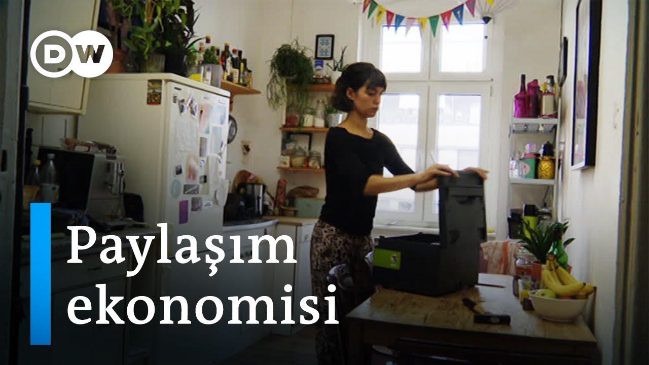 Berlinliler satın almak yerine ödünç alıyor - DW Türkçe