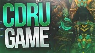 DRUID GAME VS LOCK DH - Resto Druid Cdew 7.2 Legion Arena Gameplay