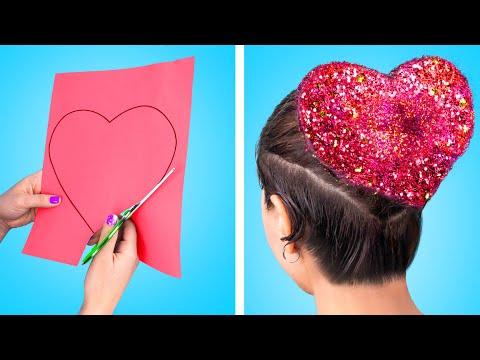 13 лайфхаков для волос! Крутые прически!