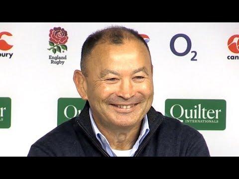 England v Australia - Eddie Jones & Dylan Hartley Post Match Press Conference