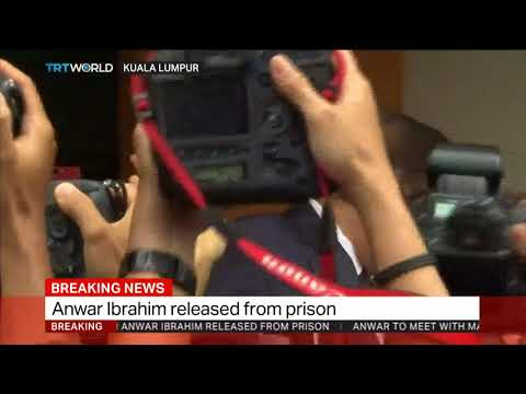 Anwar Ibrahim released from Malaysia prison