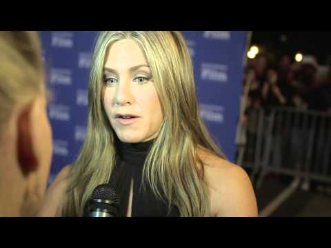 """SBIFF 2015: Red Carpet Interview with Jennifer Aniston for her work in """"Cake"""""""