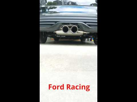 Focus ST Stock vs Ford Racing Exhaust Sounds
