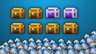8 Epic/Gold Quest Chest Opening [RotMG]