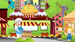 DO YOU KNOW THE MUFFIN MAN | Nursery Rhyme Express | Animation | Sing Along | Childrens Song