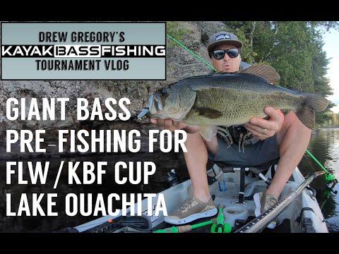 KAYAK BASS FISHING TOURNAMENT VLOG: FLW/KBF Cup Recap: Part I, Pre-Fishing