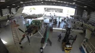 Banyan Cessna Caravan Aircraft Maintenance Time Lapse Video