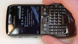 Straight Talk Nokia E71 Unboxing and First Impressions