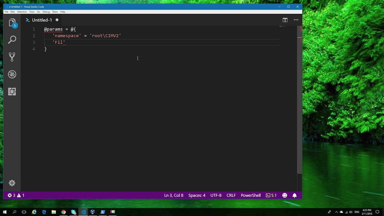 Realtime monitoring with Powershell Wmi objects