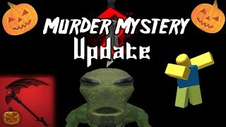 Murder Mystery 2 2018 Halloween UPDATE (ROBLOX)