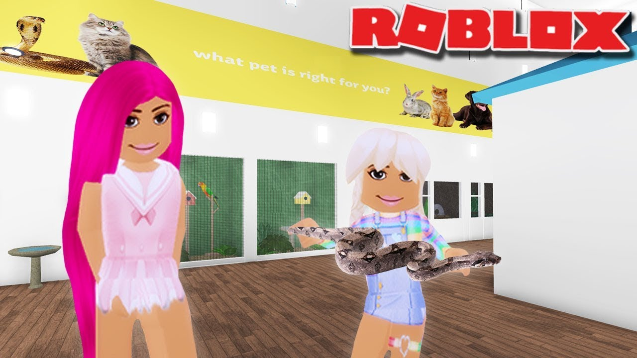 POPPY GETS A PET SNAKE | Bloxburg | Roblox