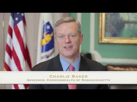 Charlie Baker Governor of Massachusetts addresses the VNA