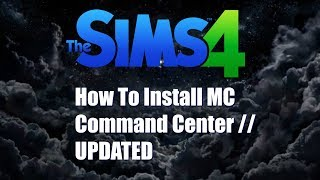 How to: Install MC Command Center // UPDATED!