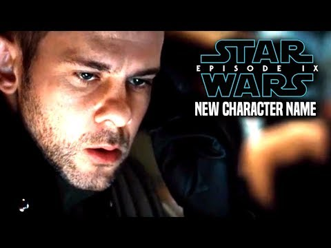 Star Wars Episode 9 NEW Character Name Revealed & More! Star Wars News