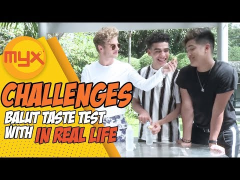 American Boy Group In Real Life Take On The Balut Taste Test