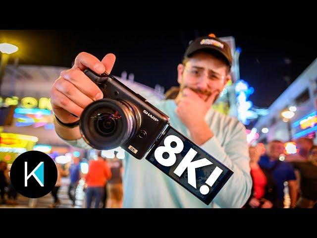 First 8K Affordable Camera? NAB 2019 - Kinotika Hosted By Dave Maze