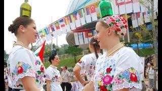 Folkloriada 2012 Korea with Hungarians