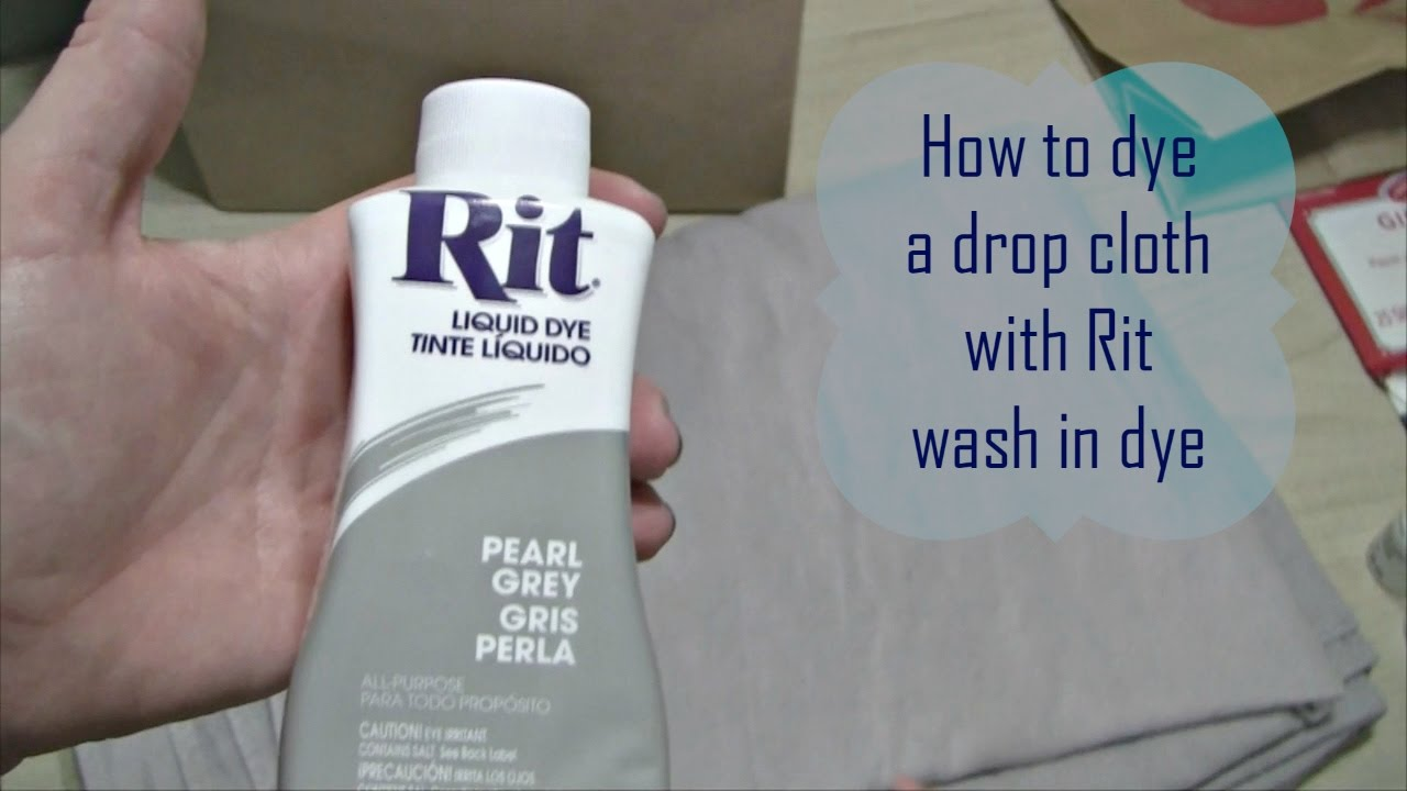 Drop cloth curtains dyed - How To Dye A Drop Cloth Canvas With Rit Wash In Dye