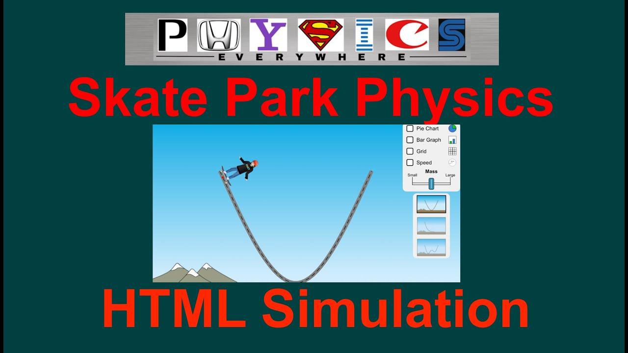 Skate Park Simulation YouTube – Energy Skate Park Worksheet