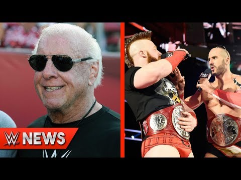 Ric Flair Hospitalized For Heart Issues! Cesaro & Sheamus Losing Titles?!  - WWE News Ep. 133