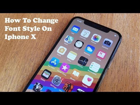 change iphone font how to change font style on iphone x fliptroniks 6999