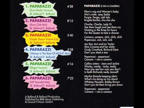 Ahmex - Paparazzi (Euro Radio Version) (1994)